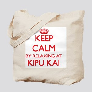 Keep calm by relaxing at Kipu Kai Hawaii Tote Bag