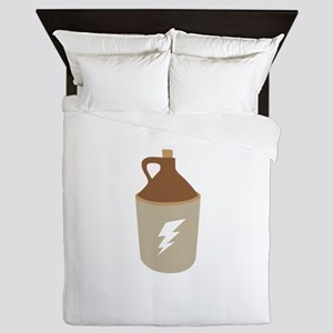 Moonshine Jug Queen Duvet