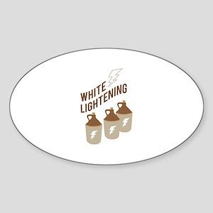 White Lightening Sticker
