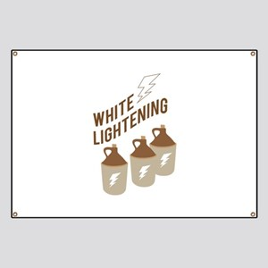 White Lightening Banner