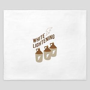 White Lightening King Duvet