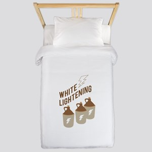 White Lightening Twin Duvet