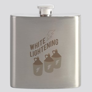 White Lightening Flask