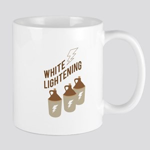 White Lightening Mugs