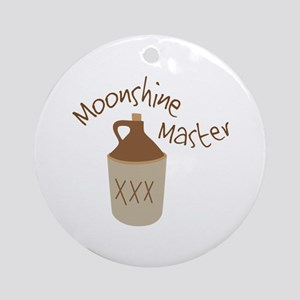Moonshine Master Round Ornament