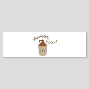 Moonshine Master Bumper Sticker