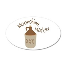 Moonshine Master Wall Decal