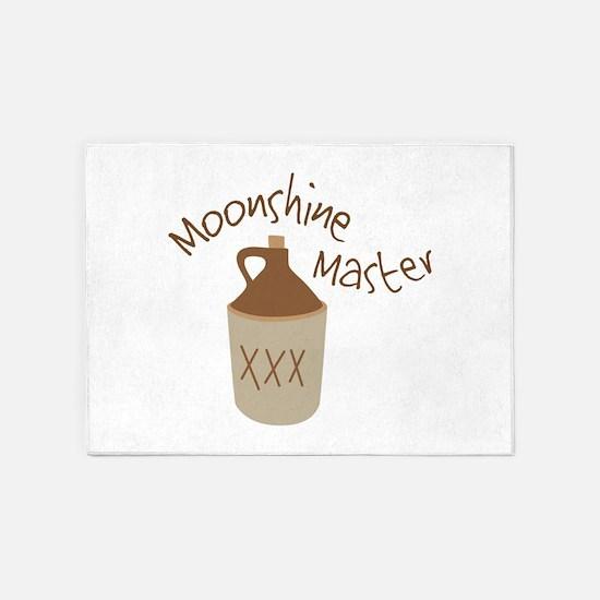 Moonshine Master 5'x7'Area Rug