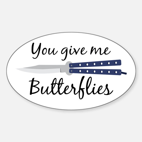 Give Me Butterflies Decal