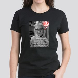 Is Growing Old A Crime? Women's Dark T-Shirt