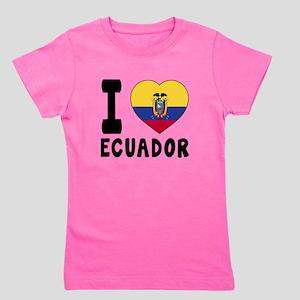 I Love Ecuador Girl's Tee