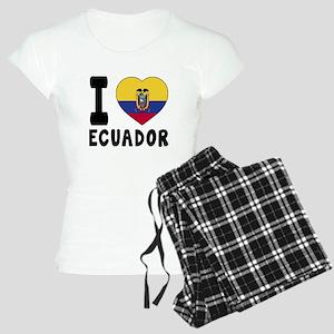 I Love Ecuador Women's Light Pajamas