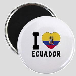 I Love Ecuador Magnet