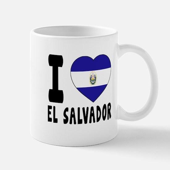 I Love El Salvador Mug