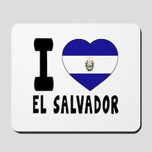 I Love El Salvador Mousepad
