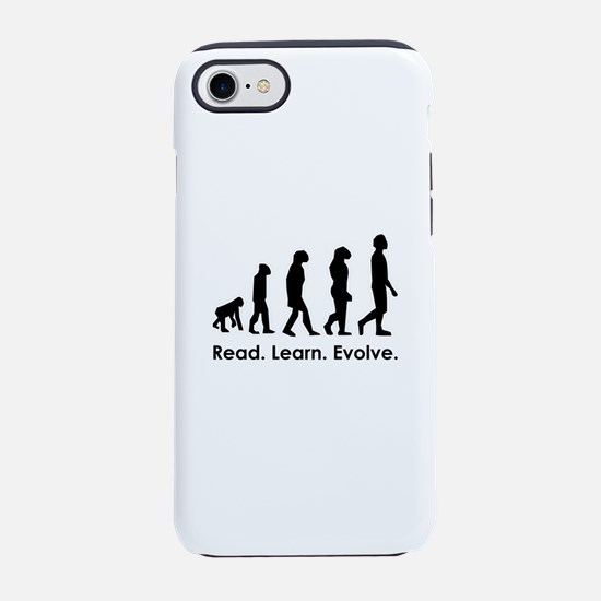 Read. Learn. Evolve. iPhone 8/7 Tough Case