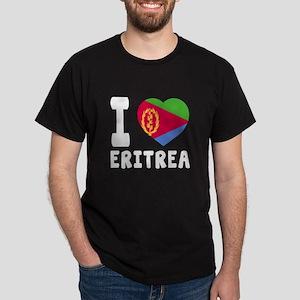 I Love Eritrea Dark T-Shirt
