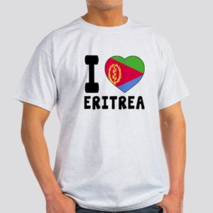 I Love Eritrea Light T-Shirt