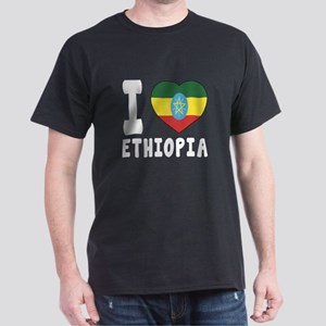 I Love Ethiopia Dark T-Shirt