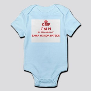 Keep calm by relaxing at Bahia Honda Bay Body Suit
