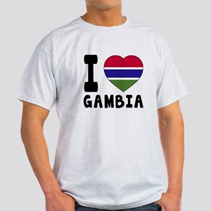 I Love Gambia Light T-Shirt