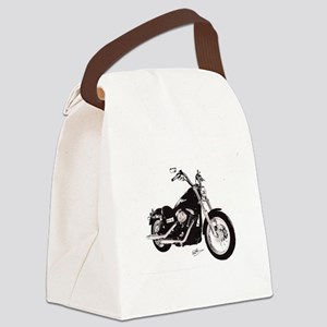 Motorcycle Canvas Lunch Bag