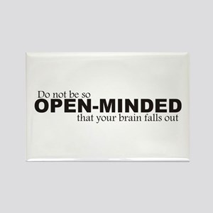 Open-Minded Rectangle Magnet