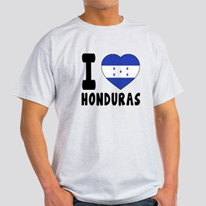 I Love Honduras Light T-Shirt