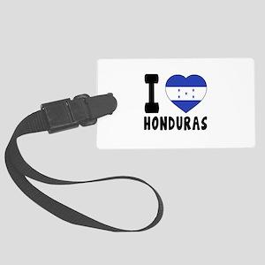 I Love Honduras Large Luggage Tag