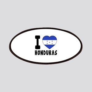 I Love Honduras Patch