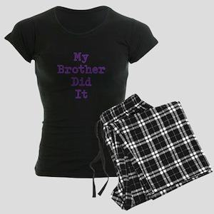 My Brother Did It Pajamas