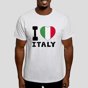 I Love Italy Light T-Shirt