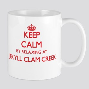 Keep calm by relaxing at Jekyll Clam Creek Ge Mugs