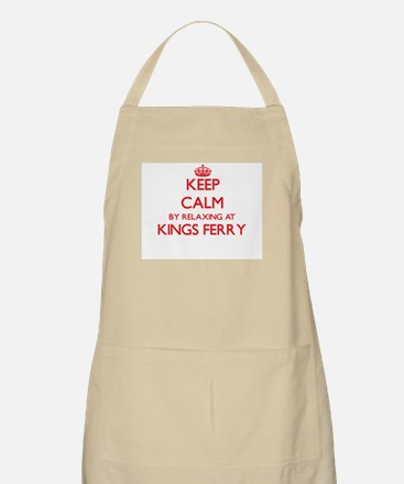 Keep calm by relaxing at Kings Ferry Georgia Apron