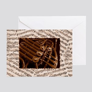 Musical Horn Greeting Cards (Pk of 20)