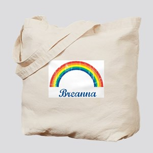 Breanna vintage rainbow Tote Bag