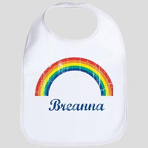 Breanna vintage rainbow Bib
