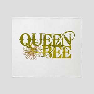 Queen Bee Throw Blanket