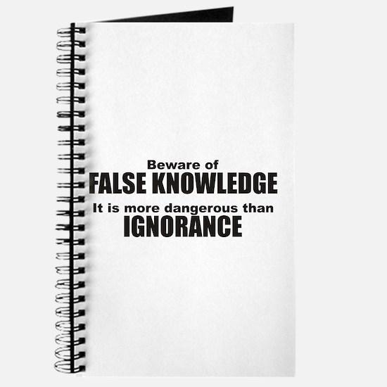Beware False Knowledge Journal