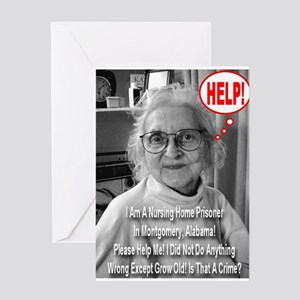 Is Growing Old A Crime? Greeting Card