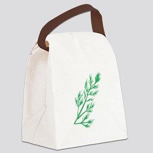 Dill Weed Canvas Lunch Bag