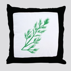 Dill Weed Throw Pillow