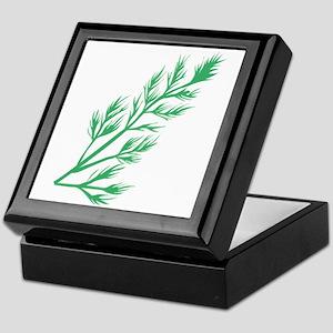 Dill Weed Keepsake Box