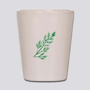 Dill Weed Shot Glass