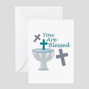 You Are Blessed Greeting Cards