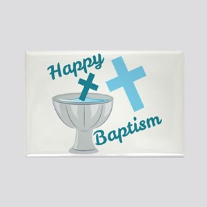 Happy Baptism Magnets