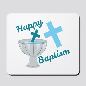 Happy Baptism Mousepad