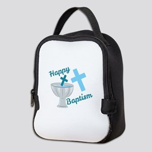 Happy Baptism Neoprene Lunch Bag