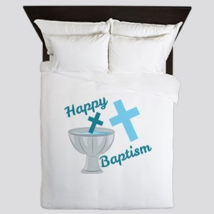 Happy Baptism Queen Duvet