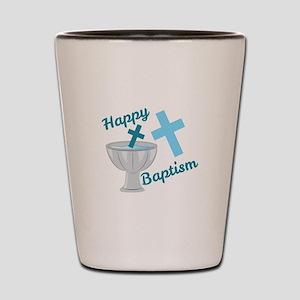 Happy Baptism Shot Glass
